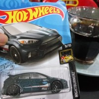 hotwheels Ford Focus Rs Gray