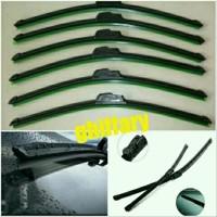 Jual wiper brio frameless. wiper brio. wiper mobil Limited