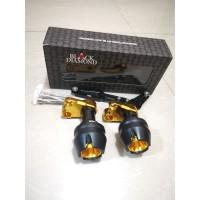 Slider Pelindung Jalu Knalpot Pcx Nmax Aerox 155 Xmax Black Diamond
