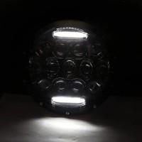 Lampu Daymaker Led 7 Inch 13 Mata H4 Drl Putih A00108