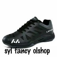sepatu badminton aerus 3 black off yonex but lefus original 100%