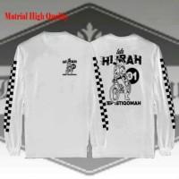 Kaos Hijrah Motor Istiqomah / Kaos Tauhid Muslim / Kaos Dakwah