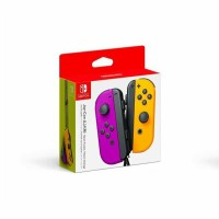 Nintendo Switch Joy Con Neon Purple Orange