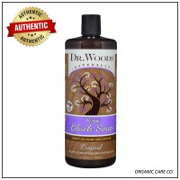 Dr Woods Castile Sabun cair 236ml Raw Black Soap Shea Butter organic
