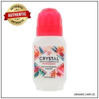 Crystal Body Deodorant Natural Deodoran Roll-On Pomegranate 66ml