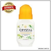 Crystal Body Deodorant Natural Deodorant Roll-On Chamomile 66ml