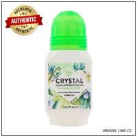 Crystal Body Deodorant Natural Deodorant Roll-On Vanilla Jasmine 66ml