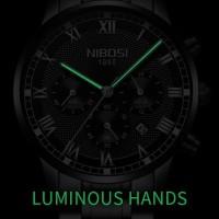 Jam Tangan pria Nibosi 2327 Blue - Original CnzH555