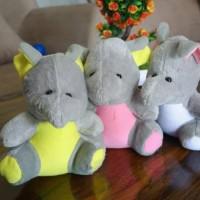 Boneka hewan gajah mini / gajah kecil TS