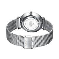 jam tangan pria NI 263 tipis Rantai Asli Stainless Steel Tid CnzH554