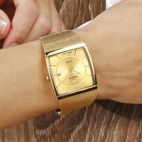 WWOOR 8831 Gold Original Jam Tangan Pria Gaya Formal dan Ele CnzH473