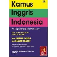 Kamus Inggris-Indonesia Edisi Yang Diperbaharui John M, Hassan Shadily