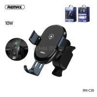 Remax Car Holder Qi Wireless Charger Sensor Car Air Vent Mount RM-C39