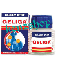 Balsem Otot Geliga 40gr / Meredakan Nyeri Otot