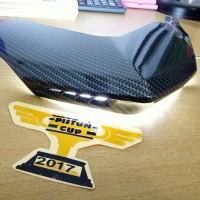 Ducktail Nmax Carbon Nemo Lampu LED / Sirip Belakang Lampu Nmax NEMO