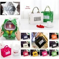 Korean Fashion Lunch Bag Cooler / Tas Bekal Korea
