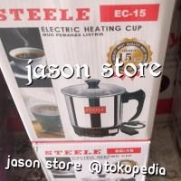 Electric heating cup Steele 15 cm/Teko pemanas air 15 cm
