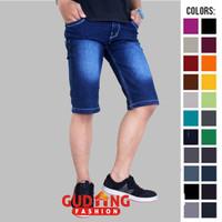 Celana Pendek Jeans Pria Denim Biru CLN 1130