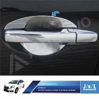 JSL Mangkok Pintu Honda Mobilio Outer Handle Platinum Chrome