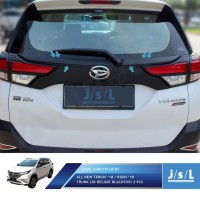 JSL List Bagasi Hitam All New Terios 2018 Trunk Lid Deluxe Blacktivo