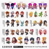 Gantungan Kunci - Ganci / Keychain - Game & Anime