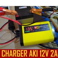 Charger AKI Cas Aki Otomatis / Charger Accu, Charger aki Mobil 2A