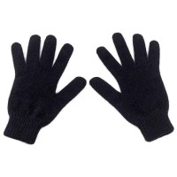 Sarung tangan motor Rajut melar Pria/Wanita - Sarung tangan murah - Hitam polos