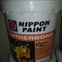 cat nippon weatherbond putih mix 20liter