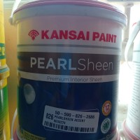 cat kansai pearl sheen putih mix 2.5liter