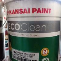 cat kansai eco clean putih mix 2.5liter