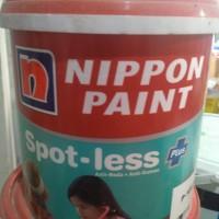 cat nippon spotless plus putih mix 20liter