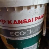 cat kansai eco clean putih mix 20liter