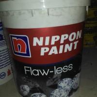 cat nippon flawless putih mix 20liter
