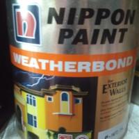 cat nippon weatherbond putih mix 2.5liter