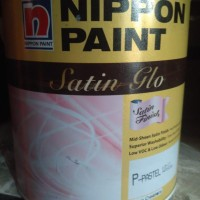 cat nippon satin glo putih mix 2.5liter