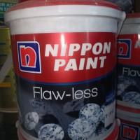 cat nippon flawless putih 2.5 liter mix