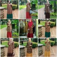Gamis Batik Modern Terbaru Meisya Style GB003