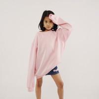 Hoodieku Kids Sweater Baby Pink Perempuan