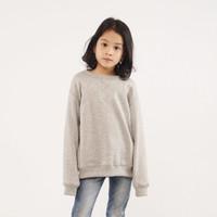 Hoodieku Kids Sweater Abu Misty Perempuan