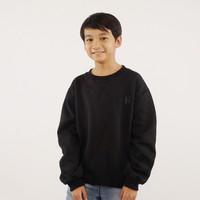 Hoodieku Kids Sweater Hitam Laki-laki