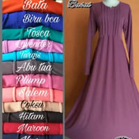 GAMIS JERSEY POLOS ADEM TEBAL JATUH NYAMAN ALL SIZE FIT TO XXL