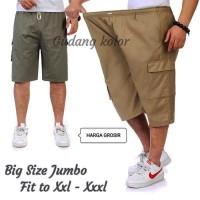 Celana Pendek Cargo Pants BIG SIZE JUMBO