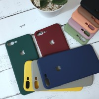 iPhone 6 iPhone 7 iPhone 8 Solid Color Candy Silicone Cases