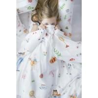 Mooi Hooded Printed Blanket