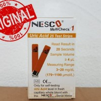 Strip Asam Urat Nesco/ Reffil Strip Uric Acid/ MultiCheck NESCO