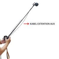 Kabel Extention AUX Microphone 5 Meter B06 - Rode - Boya - dll