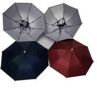Payung Topi / Topi Payung / Payung Kepala diameter 50cm .