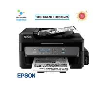 Printer Epson WorkForce M200 Mono Print Scan Copy Wifi Hitam Putih