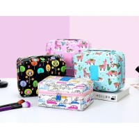 Tas Kosmetik Korea Travel Organizer / Monopoly Bag Multi Pouch ver 2
