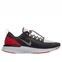 Sepatu Lari Original Nike Odyssey React Shield Black Red BQ9780006